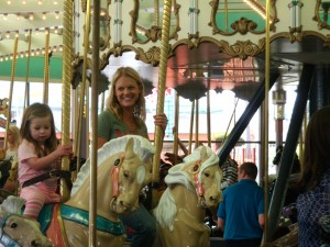 Fun on the Boardwalk Merry go Round