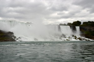 First view of Niagara Falls