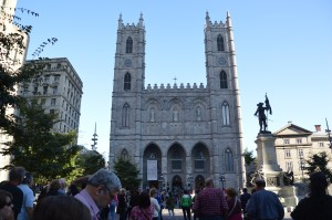Basilica Notre Dame Montreal - Best picture I could get with so many people around.