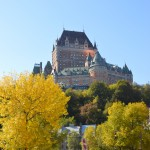 Beautiful view of Chateau Frontinic and the Fall Colors!
